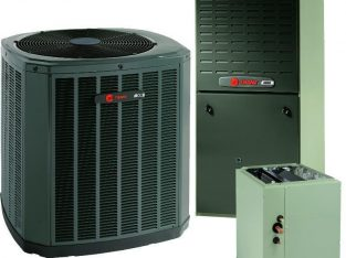 Trane 3 Ton 17 SEER 2 Stage Gas System Includes Installation