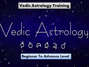 Vedic Astrology Training