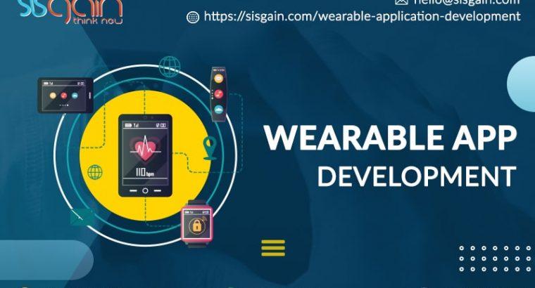 Wearable App Development Service in North Carolina, USA | SISGAIN