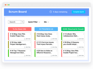Project Management Software with Agile Features to Maximize Productivity