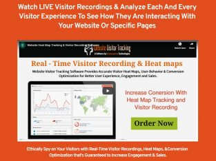 Website Heatmap Tracking & Visitor Recording Software