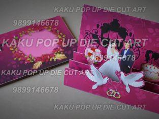 Pop Up Greeting Cards, Designer/Paper Engineer, India