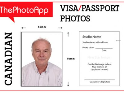 Get Passport Photos Online, Use ThePhotoApp