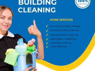 Get Commercial Building Cleaning Services For your homes