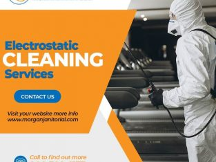 Get Electrostatic Cleaning Services For your homes and Offices