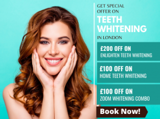 Teeth Whitening offers in London – Up to £200 off