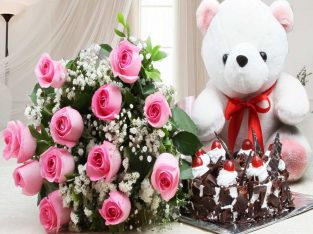 Birthday gifts combo| Cake | Flowers | Chocolate