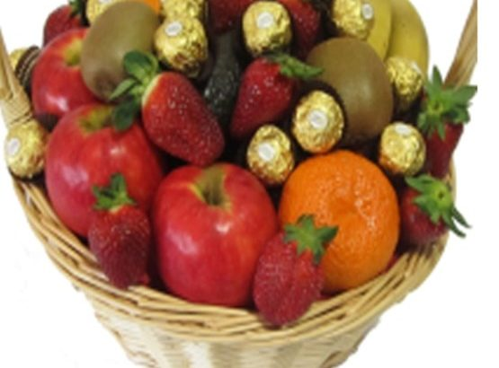 Fruit and Ferrero Baskets for Delivery