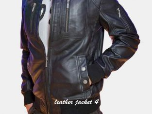 Laval leather Jacket