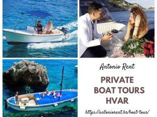 Rent a Boat Hvar- Antonio Rent