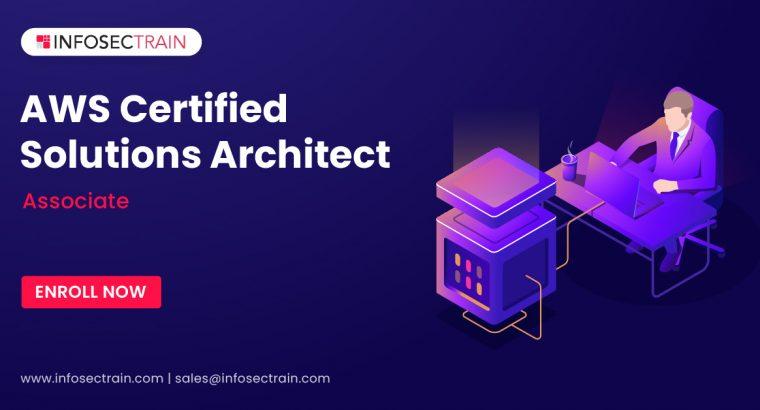 AWS solutions architect associate training
