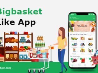 Launch your BigBasket Clone App Development