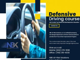 NBK All Risk Solutions is the best school For Defensive Driving course