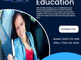 NBK All Risk Solutions is Providing Driver's Education