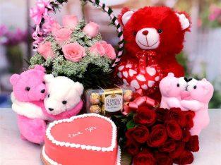 Marhaba Florist- Magnificent Birthday Gift Combo