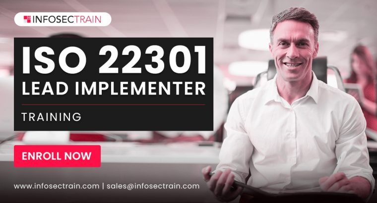 iso 22301 lead implementer training