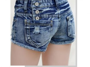 Denim shorts women's summer 2021