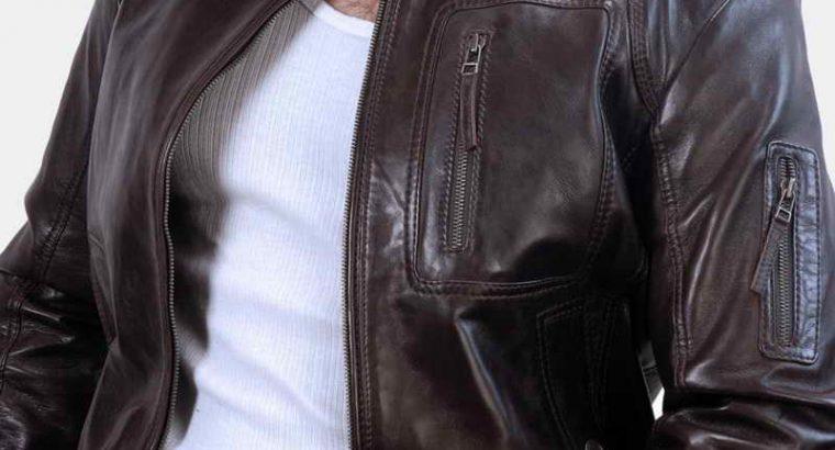 Benjamin Moto Leather Jacket