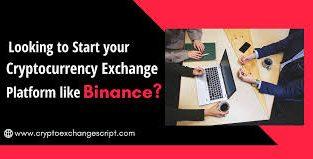 Binance Clone Script – To Start Crypto Exchange Like Binance
