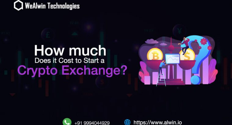 Cost to develop Crypto Exchange