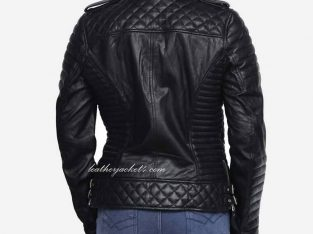 Kay Michael Quilted Leather Jacket