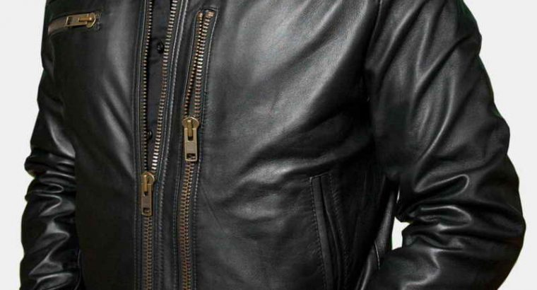Toulon Tumble Light Leather Jacket