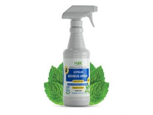 Gypsum Bed Bug Spray to Keep Bed Bugs at Bay