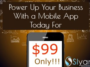 Power Up Your Business With a Mobile App For $99 Only