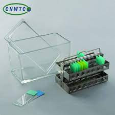 Staining Racks 30 place stainless steel material IN NIGERIA BY SCANTRIK MEDICAL SUPPLIES