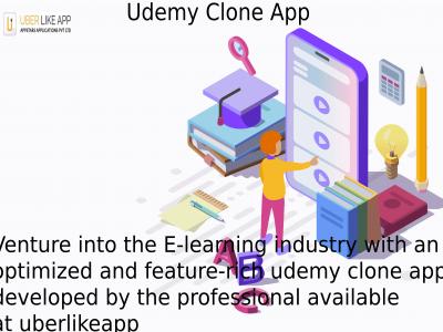 Udemy Clone Script   Udemy Clone App Development