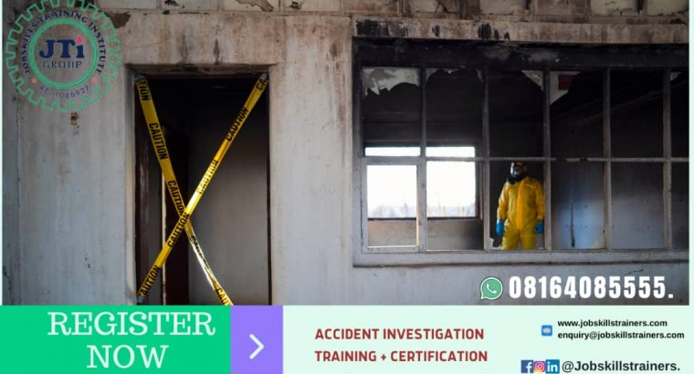 ACCIDENT INVESTIGATION AND REPORTING TRAINING