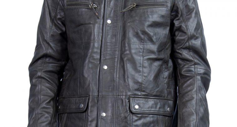 Bosom Biker Leather Jacket