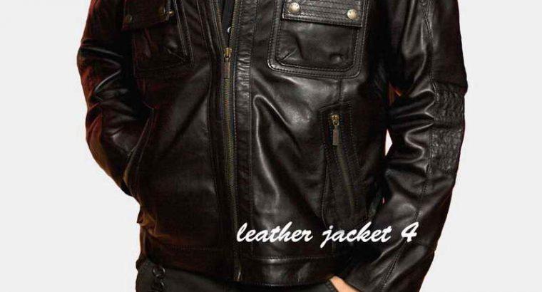 Calais Leather Jacket