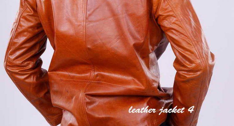 Jhony Leather Blazer