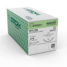 Nylon sutures (1,2,2/0) IN NIGERIA BY SCANTRIK MEDICAL SUPPLIES