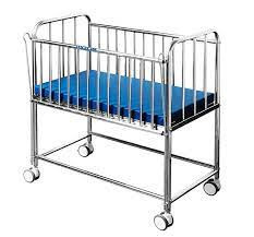 Stainless Baby Cot Bed/Infant Crib IN NIGERIA BY SCANTRIK MEDICAL SUPPLIES