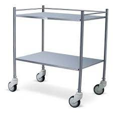Stainless Steal Instrument Trolley IN NIGERIA BY SCANTRIK MEDICAL SUPPLIES
