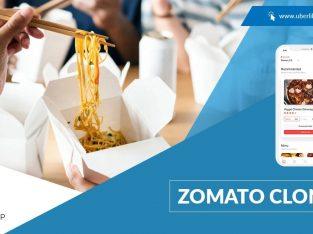 Zomato Clone App Development | Zomato Like App Development
