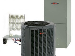Trane 2 Ton 14 SEER Single Stage Heat Pump System Includes Installation