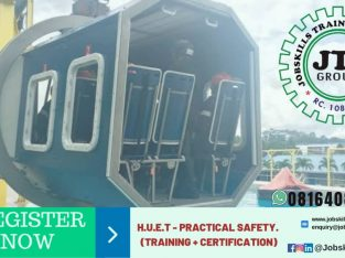 HELICOPTER UNDER WATER ESCAPE TRAINING (HUET)