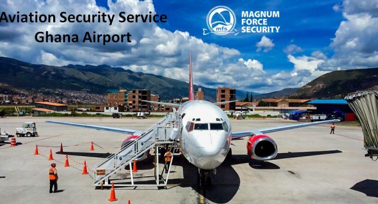Aviation Security Service Ghana Airport