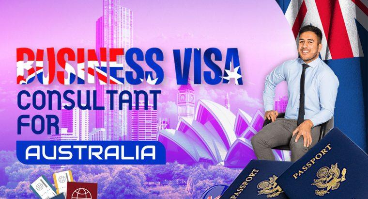 Business Visa Consultant for Australia