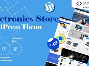 Electronics Store WordPress Theme