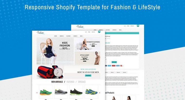 Fashion Website Templates