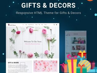 Gift Store HTML Templates