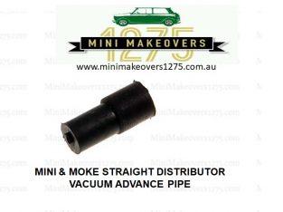 Mini & Moke Parts Oz | Straight Distributor Vacuum Advance Pipe