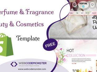 Perfume Website Templates