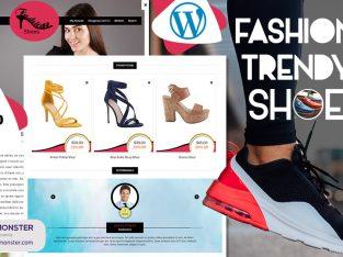 Shoes Website Templates