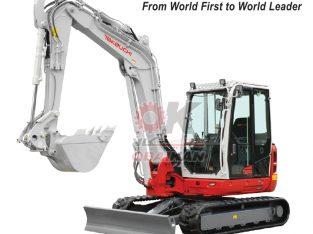 Takeuchi Excavator Supplier in Qatar