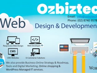 Website Design and Development Services in Australia